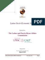 2012 LPRAC Socio Economic Study