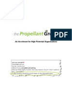 The Propellant Group Manifesto