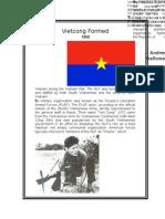 Vietnam Timeline- Vietcong Formed (1955-1963)