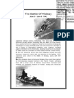 WW2 Timeline- Battle of Midway (1942)