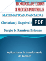Transform Ad As de Laplace Introduccion