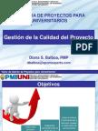 Gesti+¦n de la Calidad del Proyecto_D.Balboa