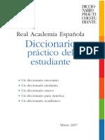 RAE - _Diccionario práctico del estudiante_