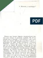 Braudel Historia y Sociologia