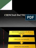 CIENCIAS FACTICAS