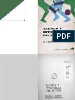 Tactica y Estrategia Del Futbol - Osvaldo Zubeldia