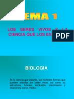Tema1,Biología