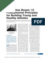 A Coaches Dozen 12 Fundamental Principles for.13