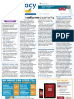 Dementia, Nominations extended, Flu vaccine, PBS and much more...