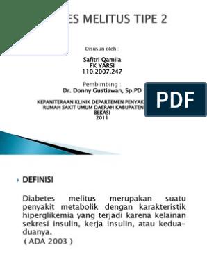 patofisiologi diabetes mellitus tipe 2 pptp