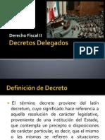 Decretos Delegados