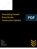 Cement Prices Report