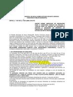 EDITAL CONCURSO  PÚBLICO NOVA OLIMPIA - MT 001-2012