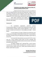 INSTRUÇÕES E CONTROLES DE SINAIS ANALÓGICOS PARA MICROLOGIX