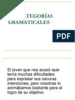 CATEGORIAS GRAMATICALES 09 03 2011