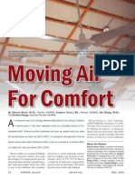 Moving Air for Comfort