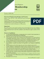 CM Exam Paper 2008 (Metric)