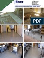 pavimento continuo antideslizante en cocina