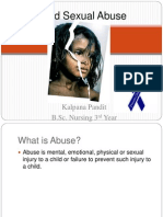 New Child Abuse Presentation