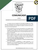 Comunicado Centros Fed