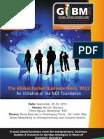 Global Indian Business Meet 2012 - NGI Initiative