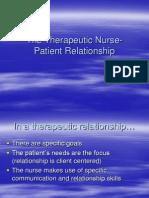 Therapeutic Relationship Nur305