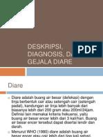 Deskripsi Diagnosis, Dan Gejala Diare