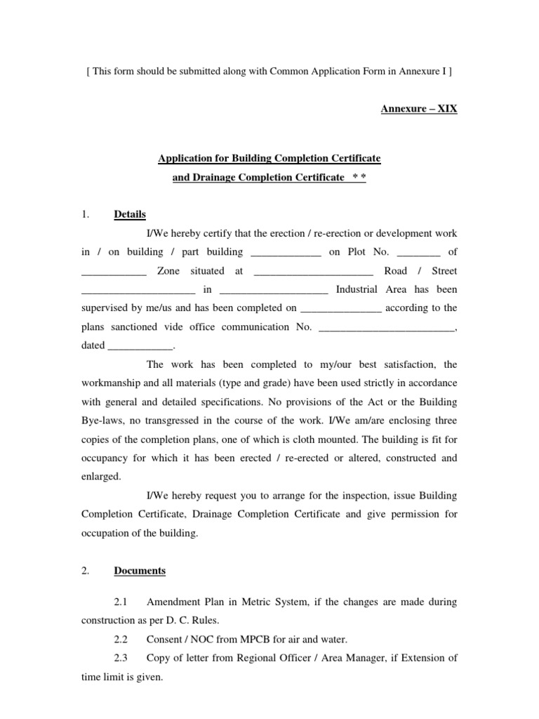 Building completion certificate sample sample of a commercial invoice building completion certificate sample blank certificates template 1518852624v1 building completion certificate samplehtml xflitez Images