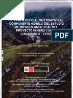 Informe Del Peritaje Internacional Al Proyecto Conga de Minera Yanacocha