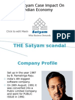 35417227 Satyam Final Ppt