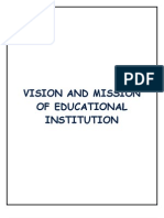 Mission &Vission