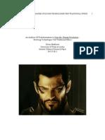 An Analysis of Transhumanism in Deus Ex