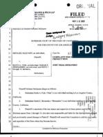 Mcquarn v. Keith Fink - Malicious Prosecution suit for $1 million dollars