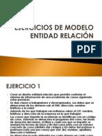 M-2.1 EJERCICIOS DE MODELO ENTIDAD RELACIÓN