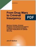 From Drug Wars Criminal Insurgency