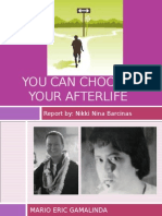 You Can Choose Your Afterlife