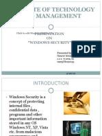 Win Security - Gt