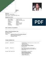 Resume Gretch[1]