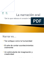 La narración oral