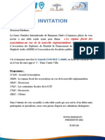 Invitation Table Ronde