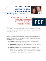 How to invest in Florida Real Estate without getting screwed -