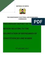 IEBC Preliminary-Report9th Jan 2012