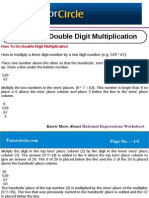 How to Do Double Digit Multiplication
