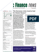 Vol. 8 Issue 43 2 November 2011 - The Eurozone Crisis-good or Bad for Islamic Finance