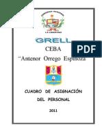 Cap Ceba Aoe - 2011