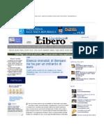 NE HA PER UN MILIARDO DI EURO - Patrimoni Immobiliari Bersani, Partiti, Franco Bechis - Liberoquotidiano.it