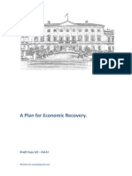 A Plan for Economic Recovery