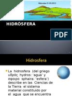Dinamica hidrosfera