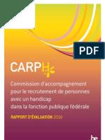 Rapport CARPH