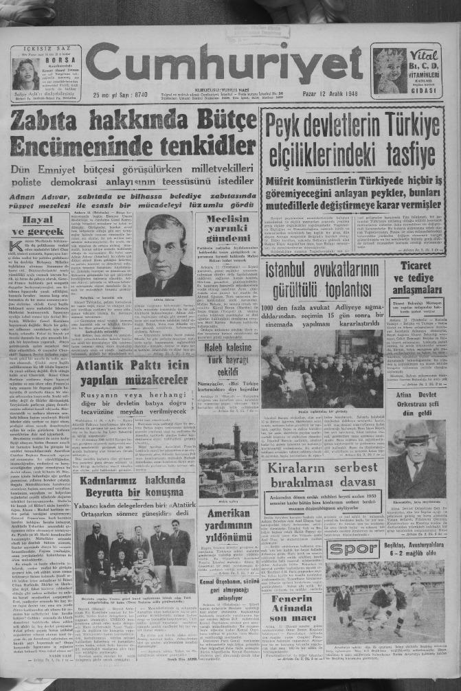 Cumhuriyet 1948 Aralik Ii